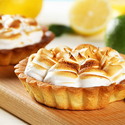 Tarte meringue innovation produit alimentaire